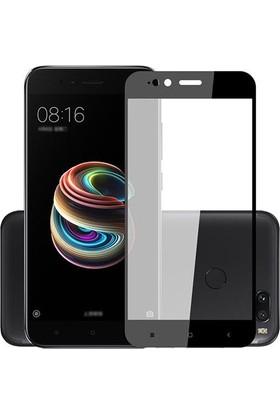 Case 4U Xiaomi 5X - A1 Tam Kaplayan Ekran Koruyucu - Nano Fiber - Siyah