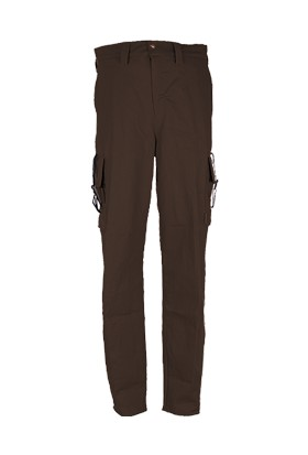 Av Pantolonu-36 105 Fişeklikli Düz Renk Pantolon
