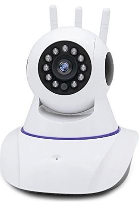 Gringo Ae 3 Anten Full Hd Wifi Kablosuz Ip Güvenlik Bebek Kamerası