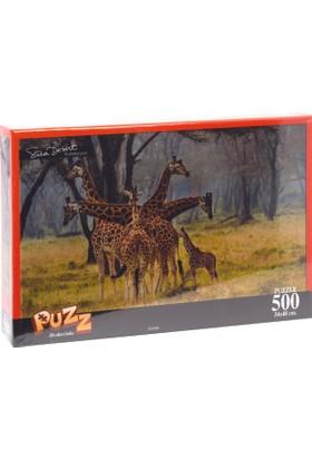 Puzz K.Color 34*49 500 lü Yapboz Zürafa (Süha Derbent)