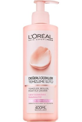 L'Oréal Paris Değerli Çiçekler Temizleme Sütü Kuru ve Hassas Ciltler