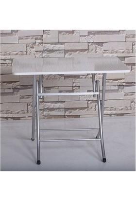 Hepsiburada Home Katlanır Masa - Beyaz (60X90)