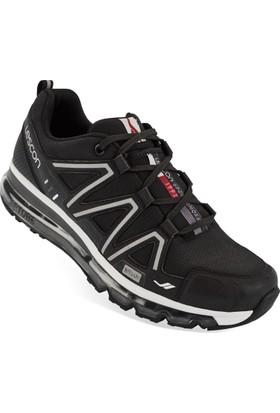 Lescon L-5500 Siyah Erkek Airtube Spor Ayakkabı