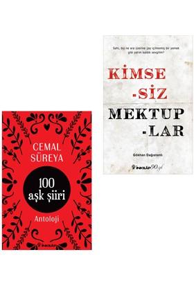 Kimsesiz Mektuplar Ve 100 Aşk Şiiri Kitap Seti - Cemal Süreyya