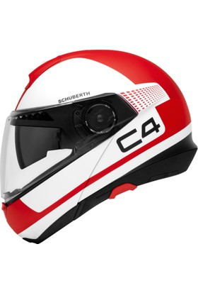 Schuberth C4 Legacy Red Kask