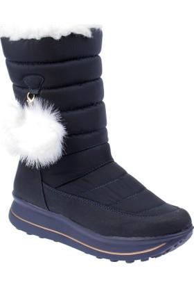Shalin Kadın Kar Botu Çvş 4209 Lacivert