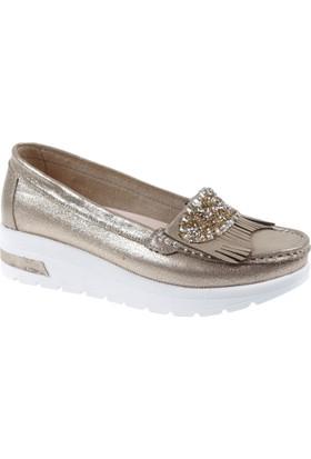 Punto Kadın Ayakkabı Pun 490021 Altın