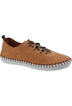İloz Hakiki Deri Kadın Ayakkabı Snj 122101 Taba