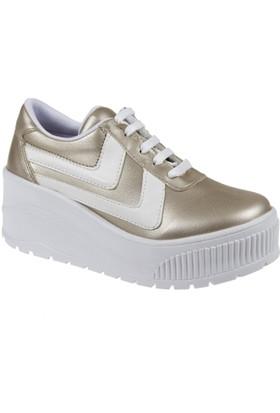 Shalin Kadın Ayakkabı Szr 3201 Altın