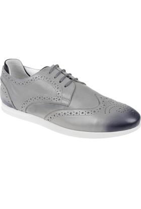 Shalin Hakiki Deri Erkek Ayakkabı Chs 160 Gri