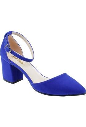 Shalin Kadın Sandalet Bşk 9581 Saxs Mavi