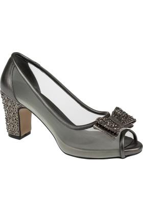 Punto Kadın Ayakkabı Pun 670169 Platin