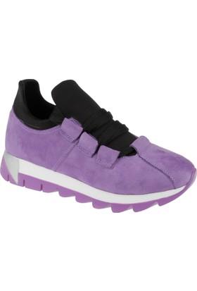 Shalin Kadın Sneaker Cd 251 Mor