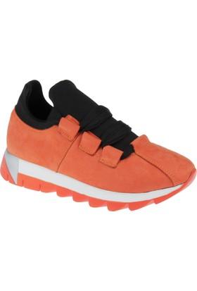 Shalin Kadın Sneaker Cd 251 Turuncu