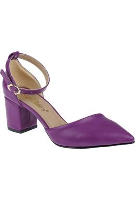 Shalin Kadın Sandalet Hsk 1179 Mor