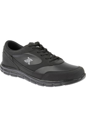 Shalin Büyük Numara Erkek Ayakkabı Krd Luttoon Siyah