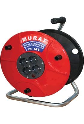 Murat Makaralı Uzatma Kablo 25 Metre