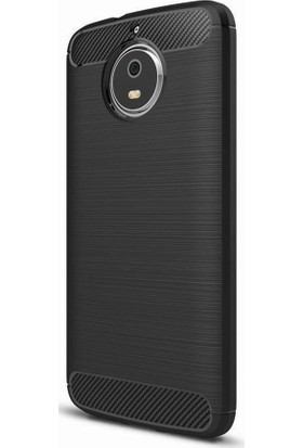 Microcase Motorola Moto G5S Brushed Carbon Silikon Kılıf