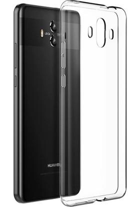 Microcase Huawei Mate 10 Ultra İnce 0.2 Mm Soft Silikon Kılıf + Nano Glass Film