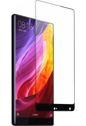 Microcase Xiaomi Mi Mix 2 Tam Kaplayan Tempered Glass Cam Koruma
