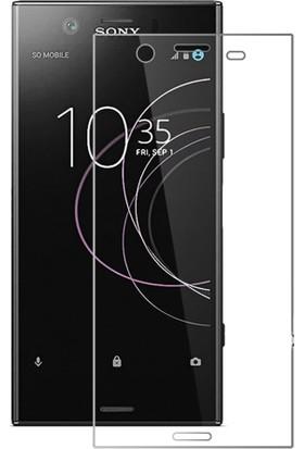 Microcase Sony Xperia XZ1 Tempered Glass Cam Ekran Koruma