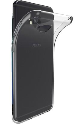 Microcase Asus Zenfone 4 Selfie ZB553KL İnce Silikon Kılıf + Nano Glass Film