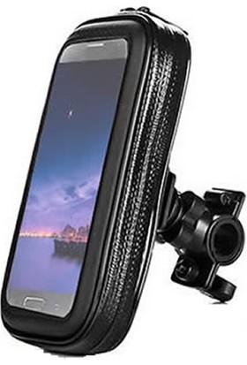 Microcase iPhone 8 Plus Su Geçirmez Motor-Bisiklet Gidon Tutucu