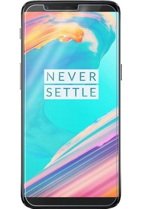 Microcase Oneplus 5T Tempered Glass Cam Ekran Koruma