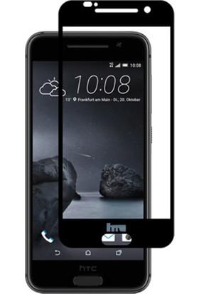 Microcase HTC One A9 Tam Kaplayan Tempered Glass Cam Koruma