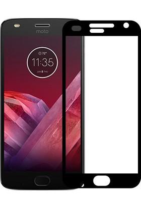 Microcase Motorola Moto Z2 Play Tam Kaplayan Tempered Glass Cam Koruma