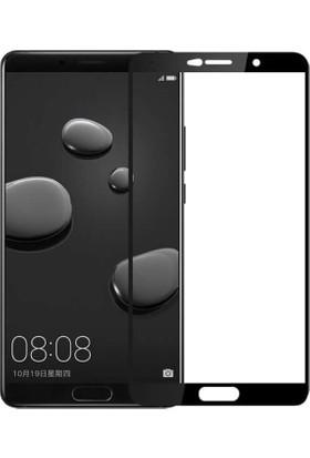 Microcase Huawei Mate 10 Tam Kaplayan Tempered Glass Cam Koruma