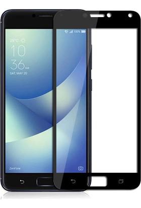 """Microcase Asus Zenfone 4 Max ZC554KL 5.5"""" Tam Kaplayan Tempered Cam Koruma"""