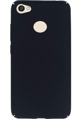 Microcase Xiaomi Redmi Note 5A Prime Sert Rubber Kılıf + Tempered Cam