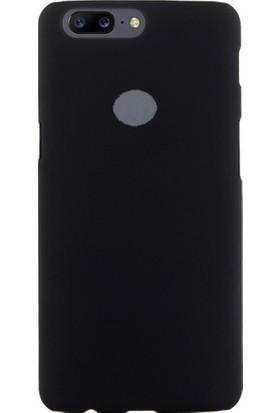 Microcase Oneplus 5T Sert Slim Rubber Kılıf + Tempered Cam Koruma