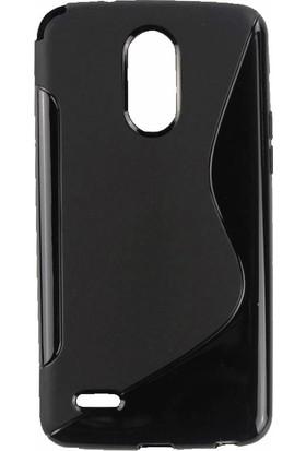 Microcase LG Stylus 3 Sline Soft Elastik Silikon TPU Kılıf + Tempered Cam