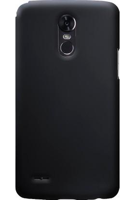 Microcase LG Stylus 3 Sert Slim Rubber Kılıf + Tempered Cam Koruma