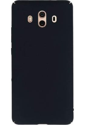 Microcase Huawei Mate 10 Sert Slim Rubber Kılıf + Tempered Cam Koruma