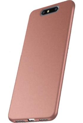 Microcase Turkcell T80 Premium Mat Soft Silikon Kılıf + Tempered Cam