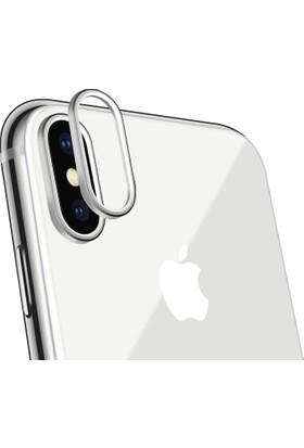 Microcase Apple iPhone X Kamera Lens Koruma Halkası