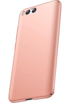 Microcase Xiaomi Mi6 Luxury Slim Sert Köşeli Rubber Kılıf + Tempered Cam