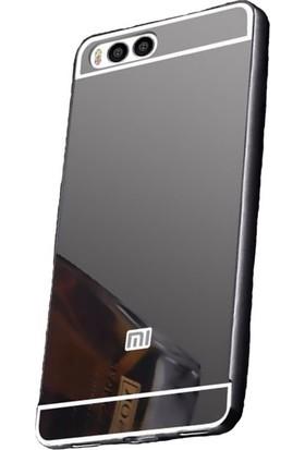 Microcase Xiaomi Mi6 Aynalı Arka Kapak Metal Bumper Çerçeve Kılıf