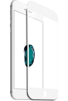 Microcase Apple iPhone 8 Plus 3D Eğimli Full Ekran Tempered Glass