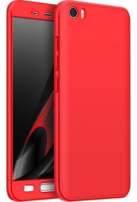 Microcase Xiaomi Mi6 Yeni 360 Fit Sert Kapsül Koruma Kılıfı 3in1