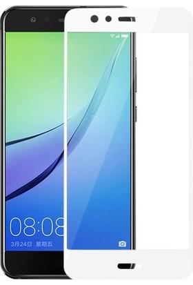 Microcase Huawei P10 Lite Tam Kaplayan Tempered Glass Cam Koruma