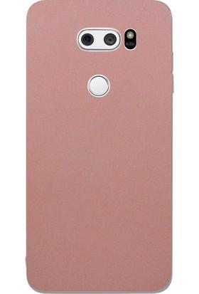 Microcase LG V30 Premium Silikon Ultra Soft Kılıf + Tempered Cam