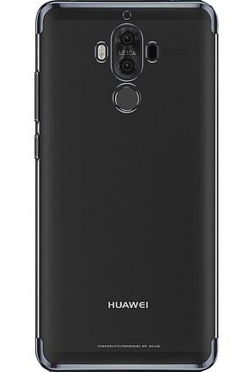 Microcase Huawei Mate 10 Pro Plating Series Soft Silikon Kılıf + Tempered Cam
