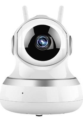 Camry 1280*720P Hd Hareketli Kablosuz Çift Antenli Gece Görüşlü Ip Kamera - Sony Sensörlü