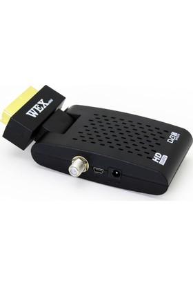 Wex Mini Scart Uçlu Sd Mini Uydu Alıcısı