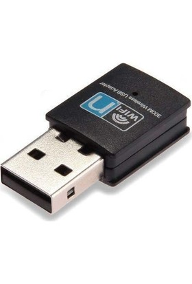 Whitecom Pc Laptop Uyumlu Wireless Ağ Adaptör 300Mbps 802.11N
