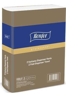 Konfor Z Dispenser Havlu 200 * (12 Paket)